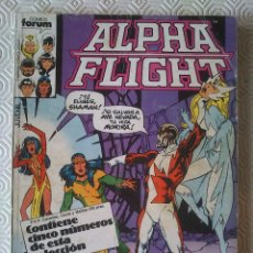 Cómics: ALPHA FLIGHT VOLUMEN 1 NUMERO 27, 28, 29, 30, 31 DE BILL MANTLO, MIKE MIGNOLA, JOHN BYRNE.. Lote 40114617