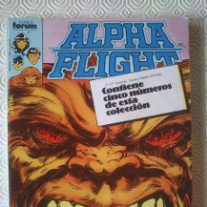 Cómics: ALPHA FLIGHT VOLUMEN 1 NUMERO 6, 7, 8, 9, 10 DE JOHN BYRNE. Lote 40115017