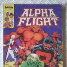 Cómics: ALPHA FLIGHT VOLUMEN 1 NUMERO 1, 2, 3, 4, 5 DE JOHN BYRNE. Lote 40115191
