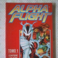 Cómics: ALPHA FLIGHT VOLUMEN 2 NUMEROS 1, 2, 3, 4, 5 DE STEVE SEAGLE, SCOTT CLARK, MARTIN EGELAND.... Lote 40115537