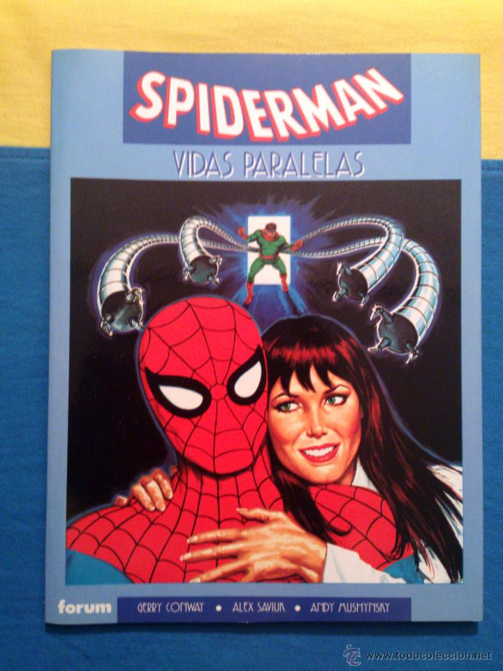 NOVELAS GRAFICAS MARVEL VOL. 2 # 14 (FORUM) - SPIDERMAN: VIDAS PARALELAS - 1993 (Tebeos y Comics - Forum - Prestiges y Tomos)