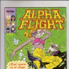 Cómics: FORUM - ALPHA FLIGHT VOL.1 NUM. 11 . CON EL POSTER DE BYRNE. Lote 40171036