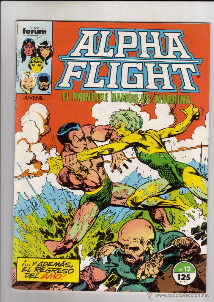 FORUM - ALPHA FLIGHT VOL.1 NUM. 12. BYRNE (Tebeos y Comics - Forum - Alpha Flight)