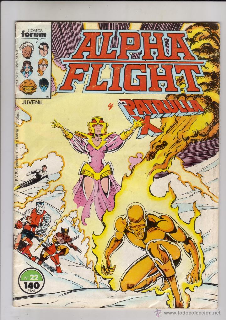 FORUM - ALPHA FLIGHT VOL.1 NUM. 22 (Tebeos y Comics - Forum - Alpha Flight)