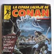 Cómics: LA ESPADA SALVAJE DE CONAN Nº 22. SERIE ORO. PLANETA COMIC. FORUM. Lote 40189400