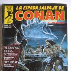 Cómics: LA ESPADA SALVAJE DE CONAN Nº 22. SERIE ORO. PLANETA COMIC. FORUM. Lote 40189410