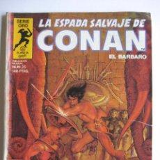 Cómics: LA ESPADA SALVAJE DE CONAN Nº 25. SERIE ORO. PLANETA COMIC. FORUM. Lote 40189458