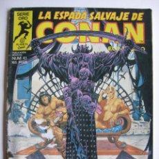 Cómics: LA ESPADA SALVAJE DE CONAN Nº 41. SERIE ORO. PLANETA COMIC. FORUM. Lote 40200562