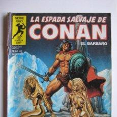 Cómics: LA ESPADA SALVAJE DE CONAN Nº 45. SERIE ORO. PLANETA COMIC. FORUM. Lote 40200638
