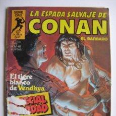 Cómics: LA ESPADA SALVAJE DE CONAN Nº 46. SERIE ORO. PLANETA COMIC. FORUM. Lote 40200658