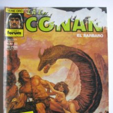 Cómics: LA ESPADA SALVAJE DE CONAN Nº 63. SERIE ORO. PLANETA COMIC. FORUM. Lote 40208686