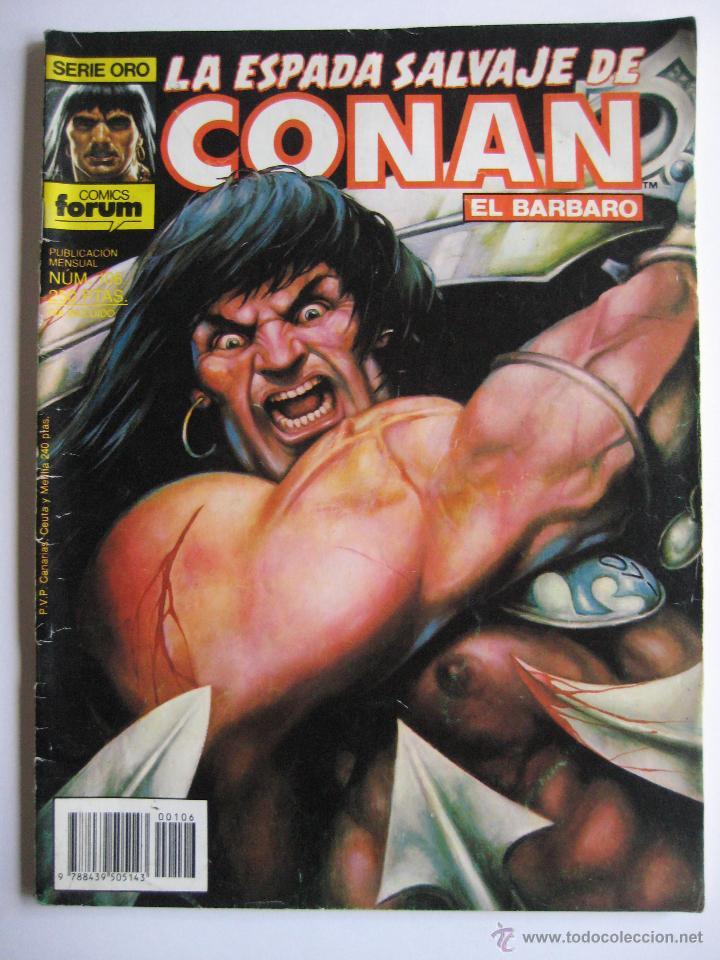 LA ESPADA SALVAJE DE CONAN Nº 106. SERIE ORO. PLANETA COMIC. FORUM (Tebeos y Comics - Forum - Conan)