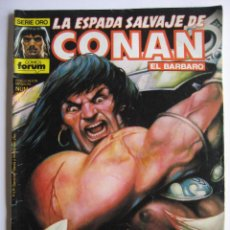Cómics: LA ESPADA SALVAJE DE CONAN Nº 106. SERIE ORO. PLANETA COMIC. FORUM. Lote 40208993
