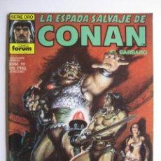 Cómics: LA ESPADA SALVAJE DE CONAN Nº 111. SERIE ORO. PLANETA COMIC. FORUM. Lote 40209028