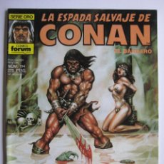 Cómics: LA ESPADA SALVAJE DE CONAN Nº 114. SERIE ORO. PLANETA COMIC. FORUM. Lote 40209098