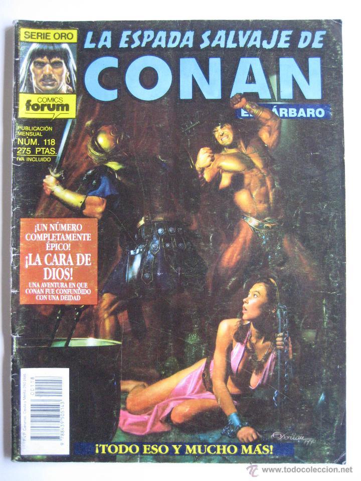 LA ESPADA SALVAJE DE CONAN Nº 118. SERIE ORO. PLANETA COMIC. FORUM (Tebeos y Comics - Forum - Conan)