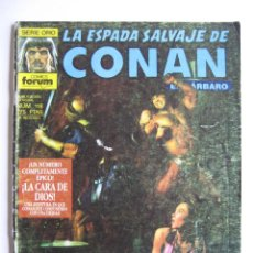 Cómics: LA ESPADA SALVAJE DE CONAN Nº 118. SERIE ORO. PLANETA COMIC. FORUM. Lote 40209223