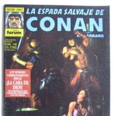 Cómics: LA ESPADA SALVAJE DE CONAN Nº 118. SERIE ORO. PLANETA COMIC. FORUM. Lote 40209239