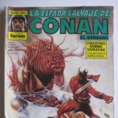 Cómics: LA ESPADA SALVAJE DE CONAN Nº 118. SERIE ORO. PLANETA COMIC. FORUM. Lote 40209499