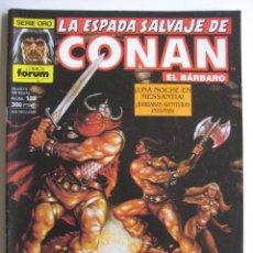 Cómics: LA ESPADA SALVAJE DE CONAN Nº 118. SERIE ORO. PLANETA COMIC. FORUM. Lote 40209553