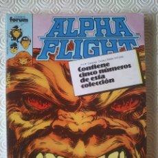 Cómics: ALPHA FLIGHT VOLUMEN 1 NUMERO 6, 7, 8, 9, 10 DE JOHN BYRNE. Lote 54485823