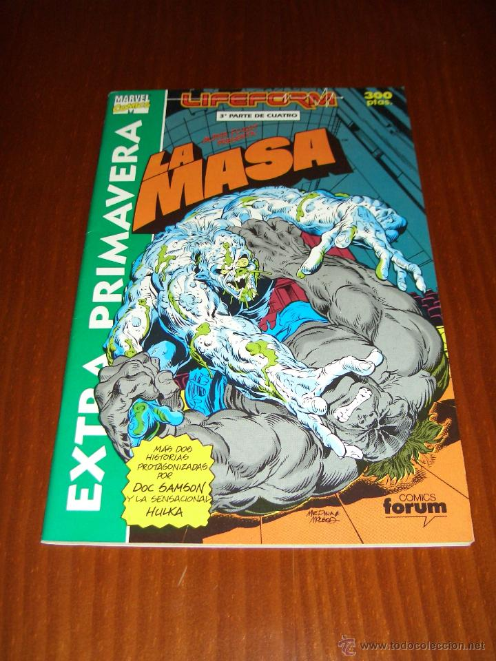 HULK - LA MASA - EXTRA PRIMAVERA 1991 - PETER DAVID - LIFEFORM (Tebeos y Comics - Forum - Hulk)