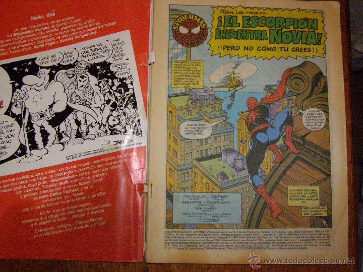 Cómics: Spiderman - Especial Navidad - El escorpion encuentra novia - - Foto 2 - 40347551