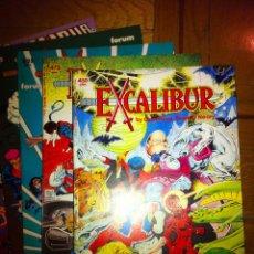 Cómics: EXCALIBUR (CLAREMONT, DAVIS).. Lote 40403623