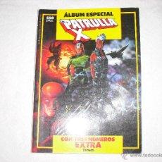 Cómics: PATRULLA X ALBUM ESPECIAL CON TRES NUMEROS EXTRAS. Lote 40438495