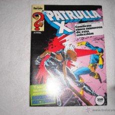 Cómics: PATRULLA X CONTIENE CINCO NUMEROS DEL Nº 52 AL Nº 56. Lote 40438758