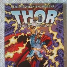 Comics: THOR: LA MALDICIÓN DE HELA TOMO 2 DE WALTER SIMONSON, JAMES OWSLEY, SAL BUSCEMA, JOHN BUSCEMA. Lote 153951490