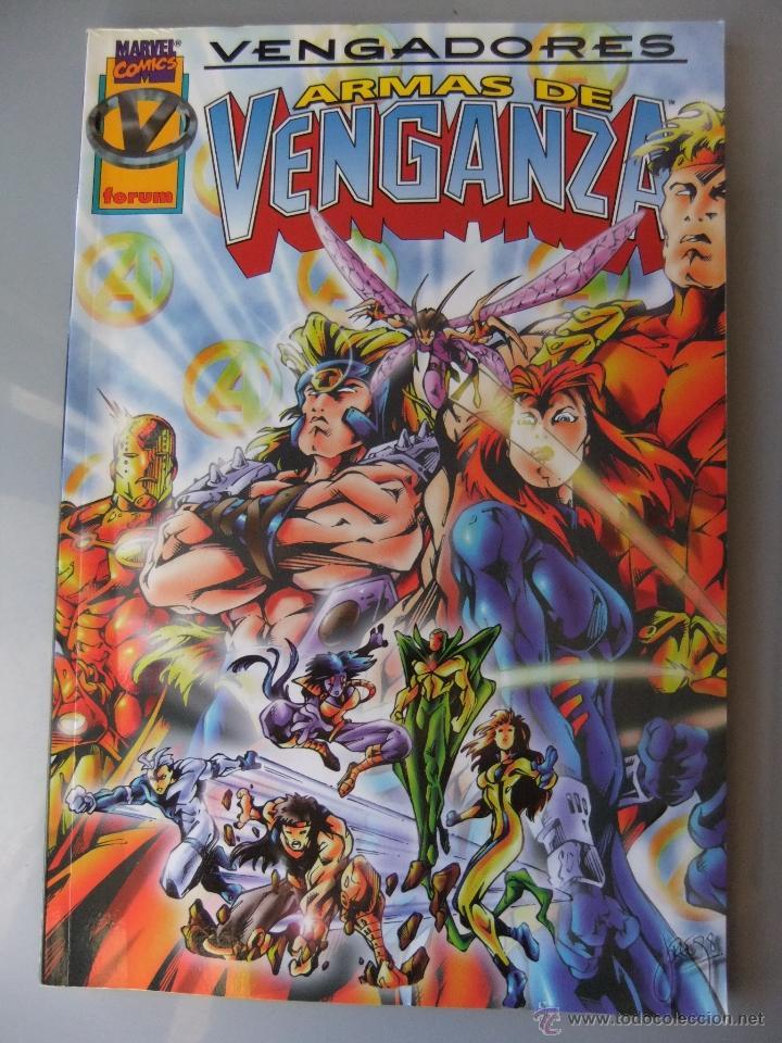 VENGADORES ARMAS DE VENGANZA (Tebeos y Comics - Forum - Prestiges y Tomos)