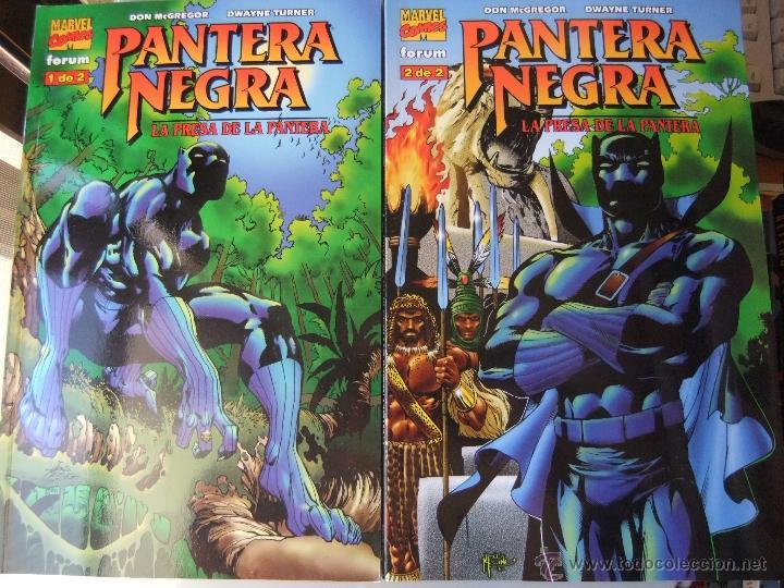 PANTERA NEGRA LA PRESA DE LA PANTERA 2 NUMEROS COMPLETA (Tebeos y Comics - Forum - Prestiges y Tomos)