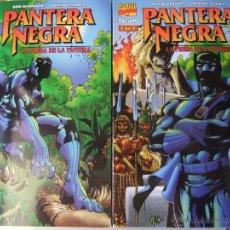 Cómics: PANTERA NEGRA LA PRESA DE LA PANTERA 2 NUMEROS COMPLETA. Lote 40543712