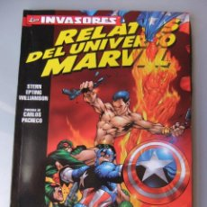Cómics: LOS INVASORES RELATOS DEL UNIVERSO MARVEL. Lote 40543939