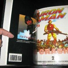 Cómics: IRON MAN - CRASH - FORUM - COMPLETA - ENCUADERNADA. Lote 40545959