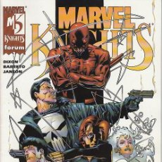 Cómics: MARVEL KNIGHTS VOL.1 # 1 (FORUM,2001) - DAREDEVIL - PUNISHER. Lote 40588825