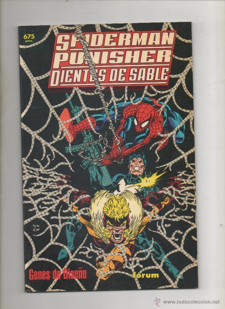 SPIDERMAN PUNISHER DIENTES DE SABLE - GENES DE DISEÑO - FORUM.DA (Tebeos y Comics - Forum - Prestiges y Tomos)