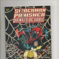 Cómics: SPIDERMAN PUNISHER DIENTES DE SABLE - GENES DE DISEÑO - FORUM.DA. Lote 40593794