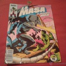 Cómics: COMIC REVISTA JUVENIL FORUM LA MASA EL INCREIBLE HULK Nº 29 MARVEL 1984 ESCASO. Lote 40597471