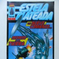 Cómics: ESTELA PLATEADA Nº 1 UN NUEVO COMIENZO...REGRESO A LA TIERRA. Lote 40619310