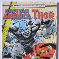 Cómics: CAPITAN AMERICA & THOR Nº 58. MARVEL TWO-IN-ONE. FORUM. Lote 40689020