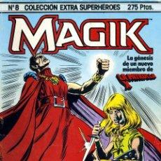 Cómics: MAGIK (PATRULLA X). COLECCIÓN EXTRA SUPERHÉROES Nº8. Lote 40719544