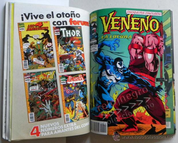 Cómics: VENENO OBRA COMPLETA COMICS PIRA F/ LA LOCURA / ENEMIGO INTERIOR CÓMIC FORUM CON PUNISHER PATRULLA X - Foto 4 - 40779960