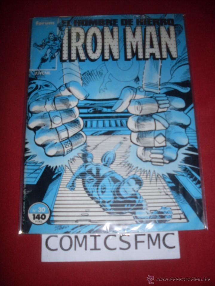 FORUM IRON MAN NUMERO 30 BUEN ESTADO (Tebeos y Comics - Forum - Iron Man)