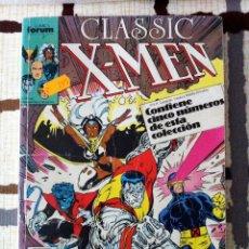 Cómics: CLASSIC X-MEN. RETAPADO DESDE EL Nº 6 AL 9. CURIOSO PUES EL ÚLTIMO ES UNA REPETICIÓN DEL Nº 8.. Lote 40852784