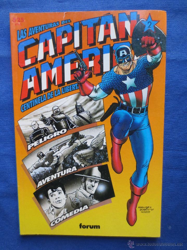 MARVEL / COLECCIÓN PRESTIGIO VOLUMEN 1 N.º 42 - LAS AVENTURAS DEL CAPITÁN AMÉRICA N.º 2 DE 4 FORUM (Tebeos y Comics - Forum - Prestiges y Tomos)