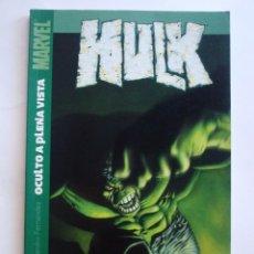 Cómics: HULK - OCULTO A PRIMERA VISTA - TOMO PANINI (MARVEL). Lote 40994190