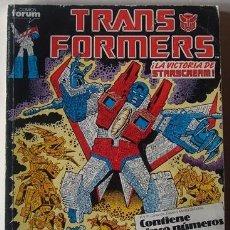 Cómics: TRANSFORMERS NOS.46,47,48,49,50.EN UN TOMO RETAPADO. Lote 238604120