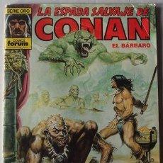 Cómics: LA ESPADA SALVAJE DE CONAN EL BÁRBARO N.113 SERIE ORO . Lote 41012995